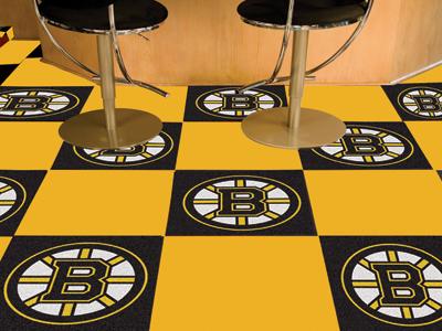 "Boston Bruins 18"" x 18"" Carpet Tiles (Box of 20)"