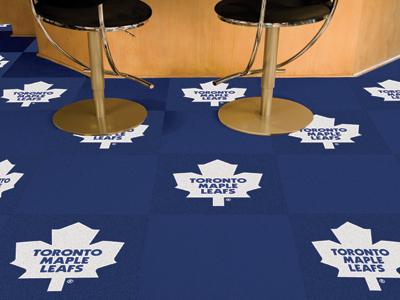 "Toronto Maple Leafs 18"" x 18"" Carpet Tiles (Box of 20)"