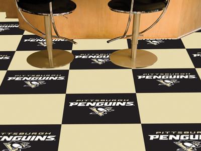 "Pittsburgh Penguins 18"" x 18"" Carpet Tiles (Box of 20)"