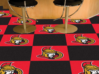 "Ottawa Senators 18"" x 18"" Carpet Tiles (Box of 20)"
