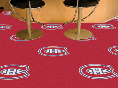 "Montreal Canadiens 18"" x 18"" Carpet Tiles (Box of 20)"