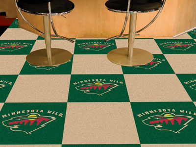 "Minnesota Wild 18"" x 18"" Carpet Tiles (Box of 20)"