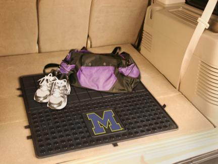 Michigan Wolverines 31in x 31in Heavy Duty Vinyl Cargo Mat