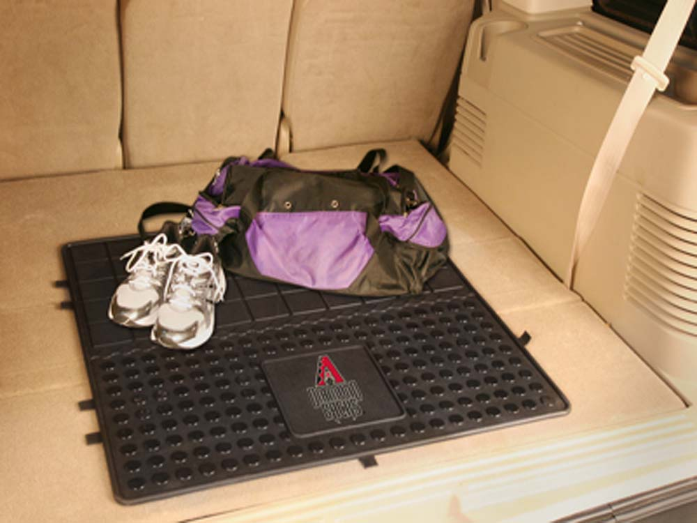 "Arizona Diamondbacks 31"" x 31"" Heavy Duty Vinyl Cargo Mat"