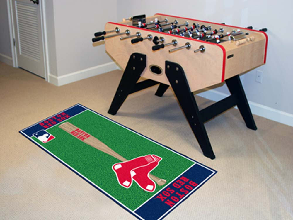 Boston Red Sox 30in x 72in Baseball Runner