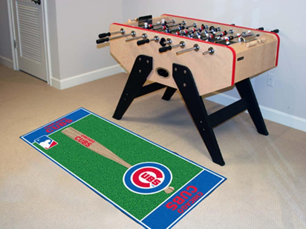 Chicago Cubs 30in x 72in Baseball Runner
