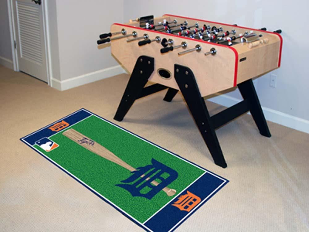 Detroit Tigers 30in x 72in Baseball Runner