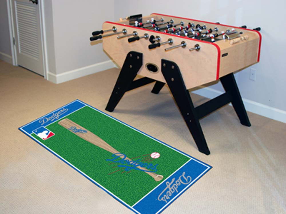 Los Angeles Dodgers 30in x 72in Baseball Runner