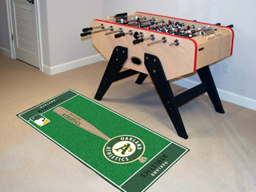 Oakland Athletics 30in x 72in Baseball Runner