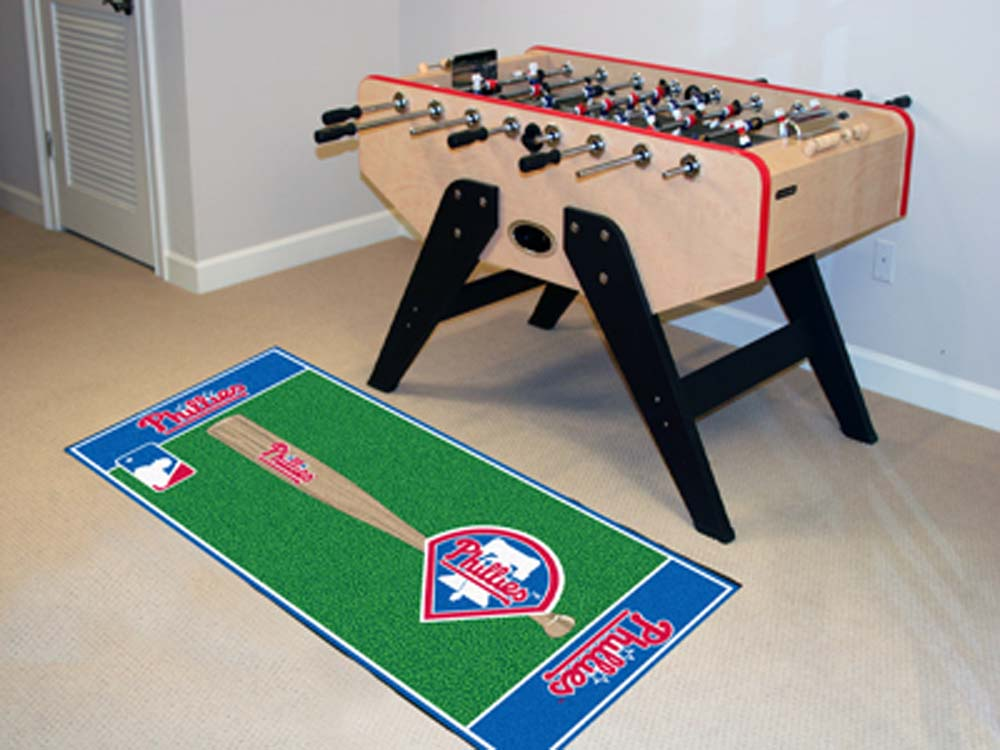 Philadelphia Phillies 30in x 72in Baseball Runner