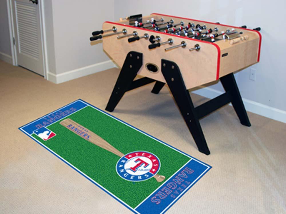 Texas Rangers 30in x 72in Baseball Runner