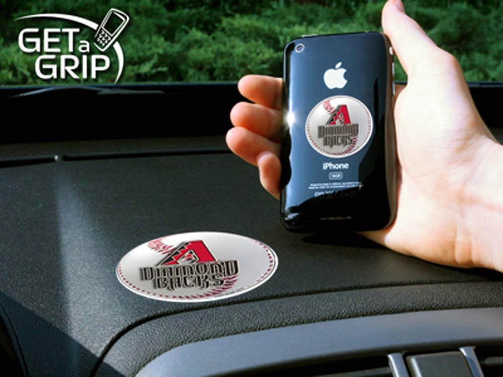 Arizona Diamondbacks 'Get a Grip' Cell Phone Holder (Set of 2)