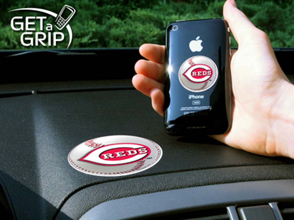 Cincinnati Reds 'Get a Grip' Cell Phone Holder (Set of 2)