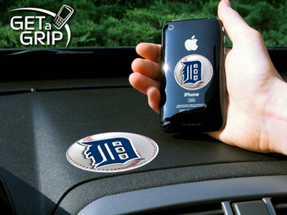 Detroit Tigers 'Get a Grip' Cell Phone Holder (Set of 2)