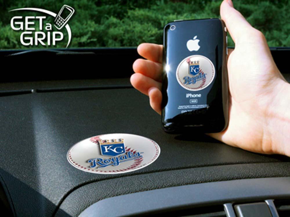 Kansas City Royals 'Get a Grip' Cell Phone Holder (Set of 2)