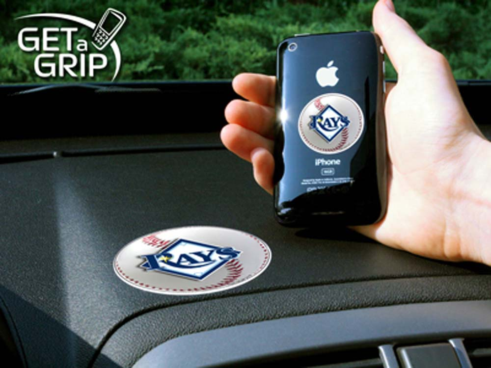 Tampa Bay Rays 'Get a Grip' Cell Phone Holder (Set of 2)