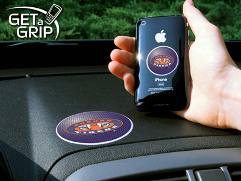 """Auburn Tigers """"Get a Grip"""" Cell Phone Holder (Set of 2)"""