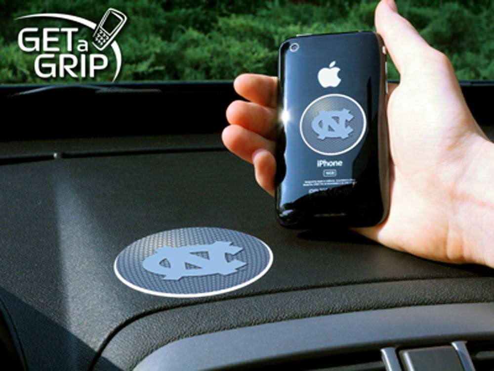 North Carolina Tar Heels 'Get a Grip' Cell Phone Holder (Set of 2)