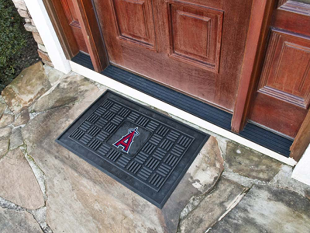 Los Angeles Angels of Anaheim 19in x 30in Medallion Door Mat