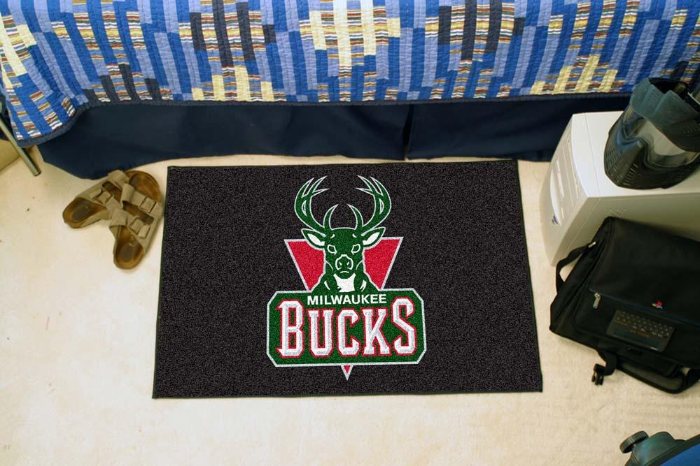 """Milwaukee Bucks 19"""" x 30"""" Starter Mat"""