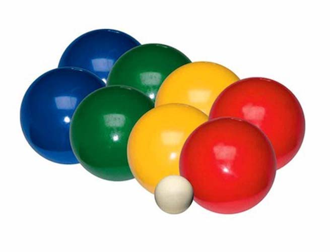 Recreational 84mm Bocce Ball Set