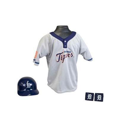 Franklin Detroit Tigers MLB Kid's Team Baseball Uniform Set (Ages 5 - 9)
