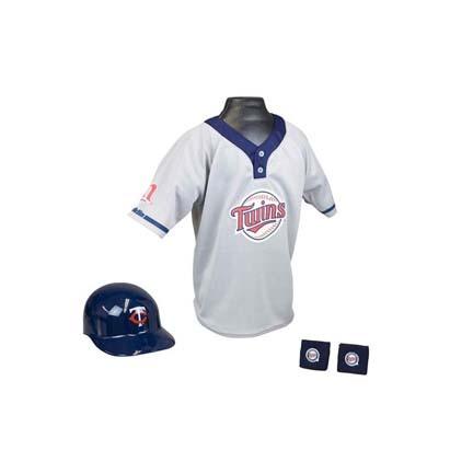 Franklin Minnesota Twins MLB Kid's Team Baseball Uniform Set (Ages 5 - 9)