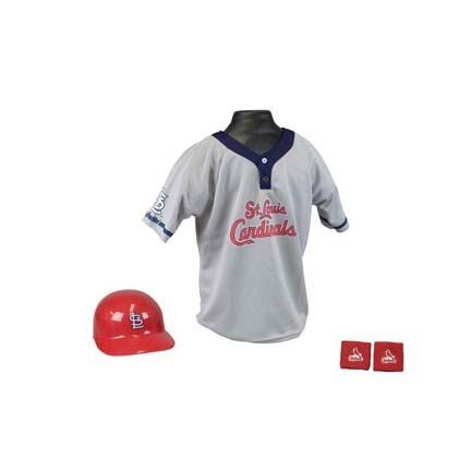 Franklin St. Louis Cardinals MLB Kid's Team Baseball Uniform Set (Ages 5 - 9)