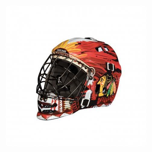 Chicago Blackhawks Franklin Mini Goalie Mask FR-7784F01