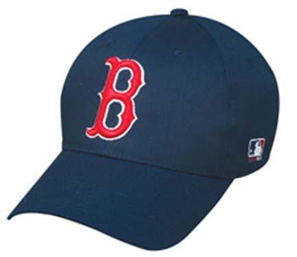 Boston Red Sox MLB Replica Team Logo Adjustable Baseball Cap from Outdoor Cap