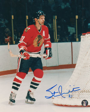 "Stan Mikita Autographed 8"""" x 10"""" Photograph (Unframed)"" FRP-AU8-MIKITA"