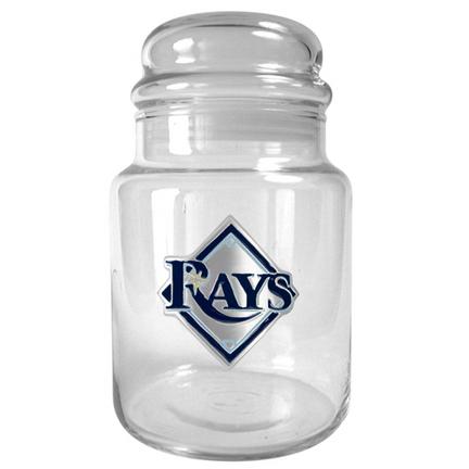 Tampa Bay Rays 31 oz Glass Candy Jar