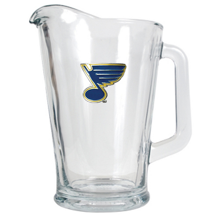 St. Louis Blues 60 oz. Glass Pitcher