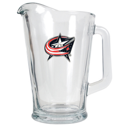 Columbus Blue Jackets 60 oz. Glass Pitcher