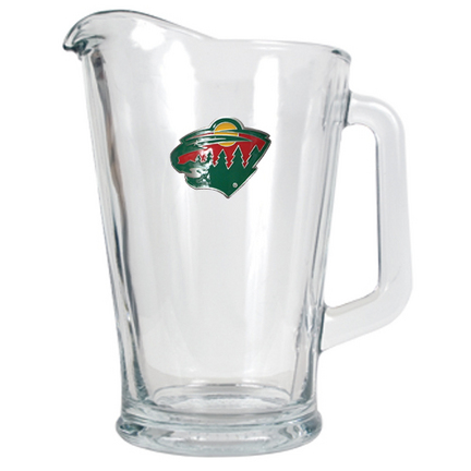 Minnesota Wild 60 oz. Glass Pitcher