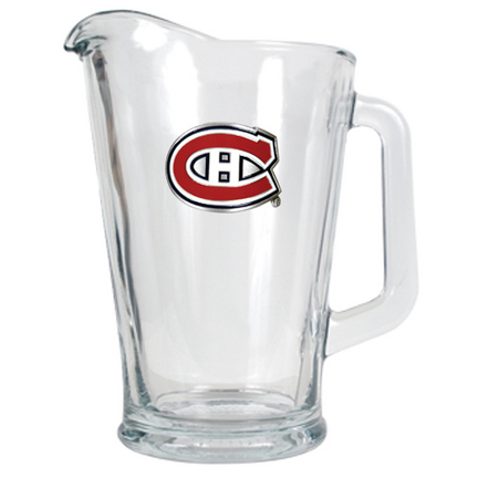 Montreal Canadiens 60 oz. Glass Pitcher GAP-GPT084-4