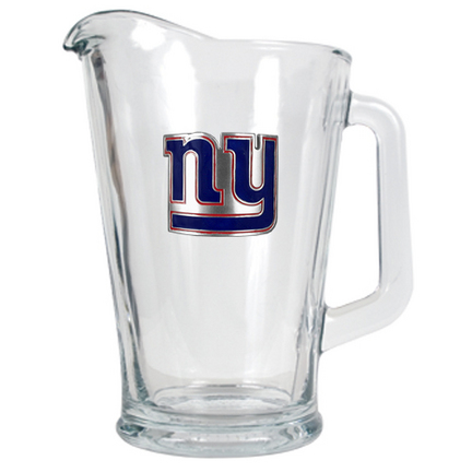 Image of New York Giants 60 oz. Glass Pitcher
