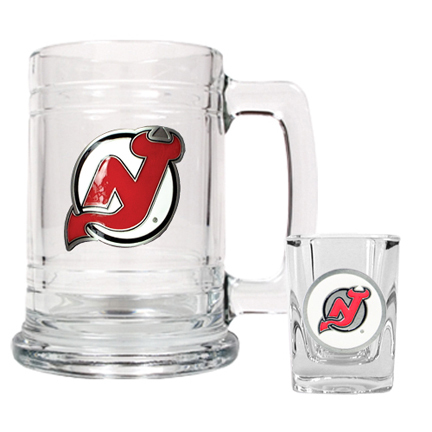 New Jersey Devils Boilermaker Set (15 oz. Mug and 2 oz. Shot Glass) GAP-GTGSS008-4