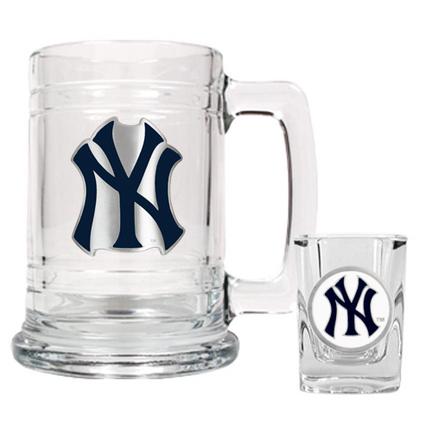 Yankees Shot Glasses New York Yankees Shot Glass Yankees