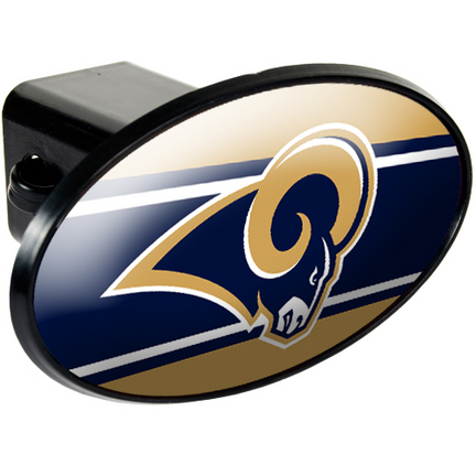 St. Louis Rams Trailer Hitch Cover from Great American Products