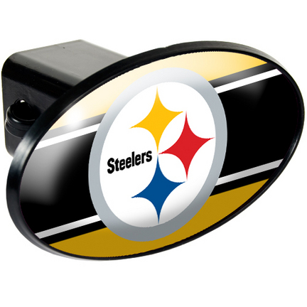 Pittsburgh Steelers Trailer Hitch Cover from Great American Products GAP-HCC2017