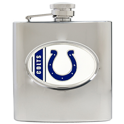 Image of Indianapolis Colts 6 oz. Stainless Steel Hip Flask