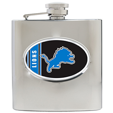 Image of Detroit Lions 6 oz. Stainless Steel Hip Flask