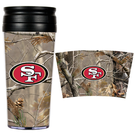 "San Francisco 49ers """"Open Field"""" Travel Tumbler"" GAP-RTPT2002"