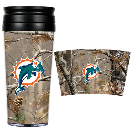 "Miami Dolphins """"Open Field"""" Travel Tumbler"" GAP-RTPT2009"