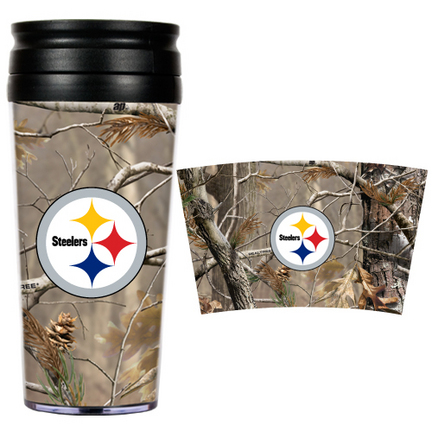 "Pittsburgh Steelers """"Open Field"""" Travel Tumbler"" GAP-RTPT2017"