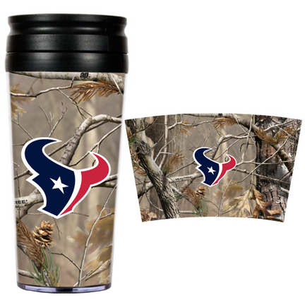 "Houston Texans """"Open Field"""" Travel Tumbler"" GAP-RTPT2071"