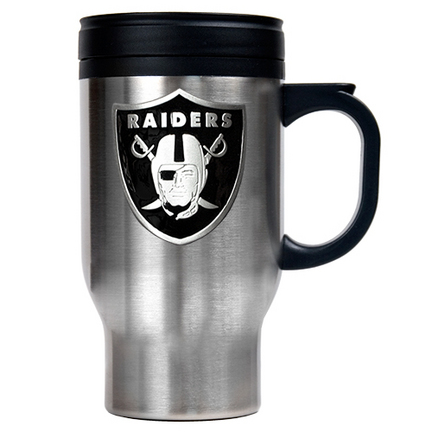 Oakland Raiders 16 oz. Stainless Steel Travel Mug GAP-TM2001-7