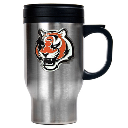 Cincinnati Bengals 16 oz. Stainless Steel Travel Mug GAP-TM2007-7