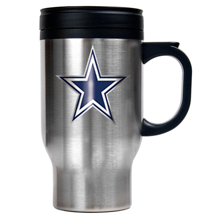 Image of Dallas Cowboys 16 oz. Stainless Steel Travel Mug